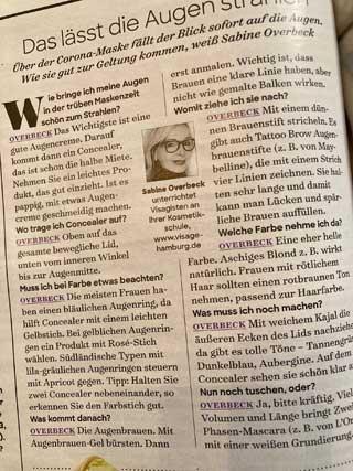 Frau im Leben Pressebericht